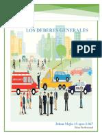 LOS DEBRES ETICA PROFESIONAL