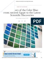 The History of the Color Blue_ From Ancient Egypt to New Discoveries