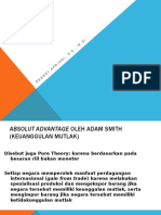 3 Teori Klasik Adam Smith