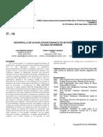 IT-18 Desarrollo de un analizador dinámico de un motor de inducción