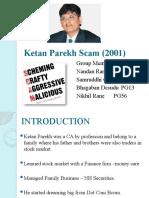 Ketan Parekh Scam (2001)