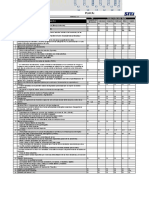 Formatos a usar para inspección - Proyecto Quellaveco