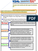Industrial Revolution - Research Notes 2