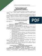Decreto Supremo 25201