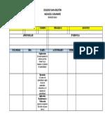 plan de aula primaria