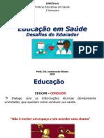 Aula 1 - Educação em Saude Desafios do Educador.pdf