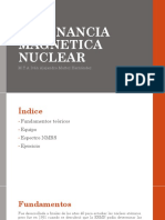 UNIDAD 3.4 RESONANCIA MAGENTICA NUCLEAR