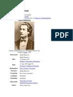 Referat in engleza Mihai Eminescu