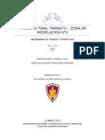 INFORME PROYECTO TRANSITO SYNCHRO