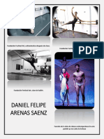 Expediente de danza. Daniel Felipe Arenas Saenz.