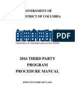 2016 Third Party Program Manual_ Columbia