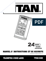 Titan TT19810C0M Laser Distance Meter
