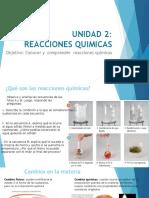 PPT_REACCIONES QUIMICAS_QUIMICA 1° MEDIO