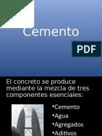 el cemento