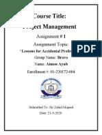 Aimen PM Assignment 1.docx