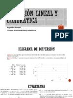 sesión virtual Regresión lineal y cuadrática