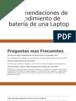 Recomenciones de Laptop