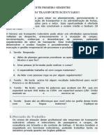 TECNICO EM TRANSPORTE CARRETERO
