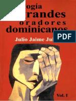 Antologia de Grandes Oradores Dominicanos Vol. I