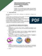 MEDIOS MASIVOS DE COMUNICACIÓN GRADO 6