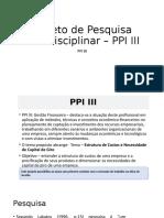 PPI III - Gefin - Tucuruvi - Terça (1)