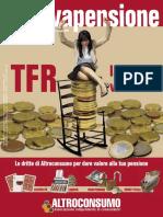 Il Salvapensione ''TFR la scelta vincente'' - Suppl. n. 3 Altroconsumo 204 Maggio 2007