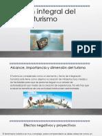 Visión Integral Del Turismo