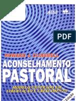 ACONSELHAMENTO PASTORAL — 4a Edição