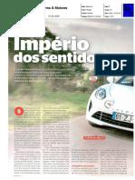 """NOVO ALPINE A110 S NA """"CARROS & MOTORES"""""""
