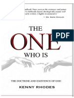 The One Who Is - KRhodesJr (final edition).pdf