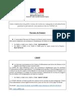 Liste à Destination Du Public Des Associations Et Des Permanences Ouvertes Pendant La Periode de Cette Crise Sanitaire Liee Au COVID 19.-3-2