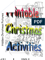 Printable Children's Christmas Activities