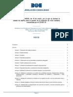 Real Decreto 463.2020 Estado de Alarma Actualizado 18.03.2020