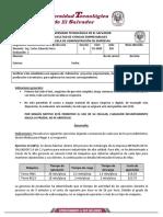 Formato para examen escrito 2020 - Segunda evaluación - B