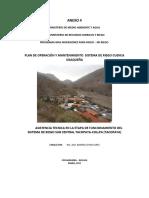 plan de operación y mantenimiento del sistema de riego