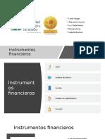 Instrumentos financieros CORRECCION