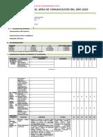 2- Formato - Planificacion Anual - Dora 10-03-2020