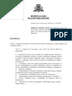 Decreto n. 18.561 de 21 de Marco de 2020 (1)
