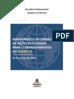 MAPEAMENTO INTERNACIONAL DE AÇÕES REALIZADAS PARA O ENFRENTAMENTO AO COVID-19   V2 - 23 03