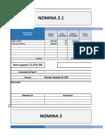 NOMINA GUIA 7