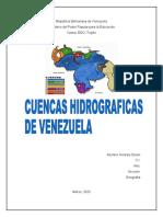 CUENCAS HIDROGRAFICAS DE VENEZUELA, MARIANA