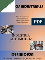1. Industria petroquímica automotriz