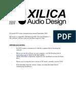Xilica-V3.02-USB-Connect-Manual