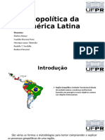 Geopolítica da América Latina com conclusão e referencias rudinei (1)