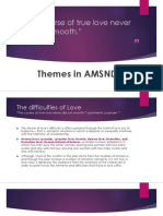 Themes in AMSND
