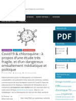Covid19 & chloroquine
