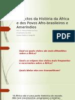 Aula 1 História da África