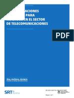 Recomendaciones Trabajos en Telecomunicaciones - SRT