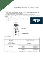 especificaciones Fibra Drop GJYXFCH-6