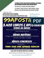 3.428 LIVROS E APOSTILAS PARA CONCURSOS PÚBLICOS